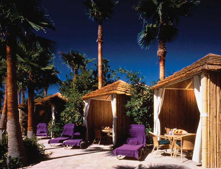 hard rock cabanas