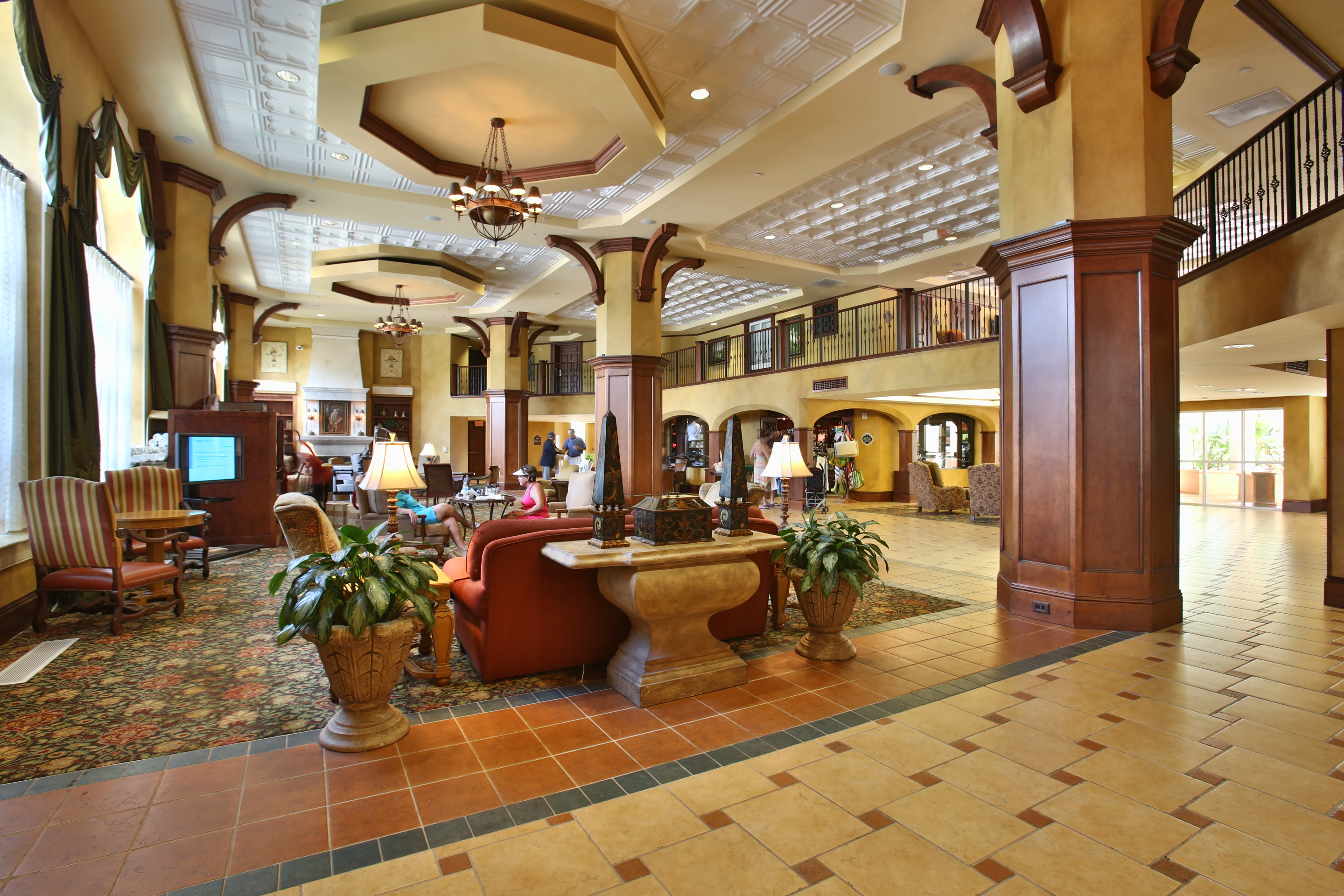 hammock beach lobby new 2